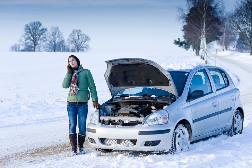 Problem in car battery in winter