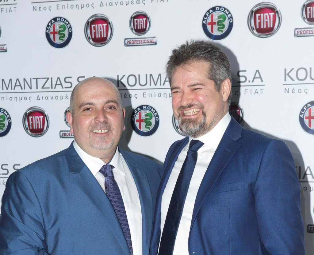 TETOMA BOSCH CEO Ηλίας Σταμογιώργος| Εγκαίνια FIAT KOUMANTZIAS